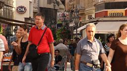 European City Street Budapest Hungary 03 neutral Stock Video Footage