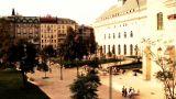 European Square Budapest Hungary stylized artsoft diffusion Footage
