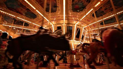 Carousel loop Stock Video Footage