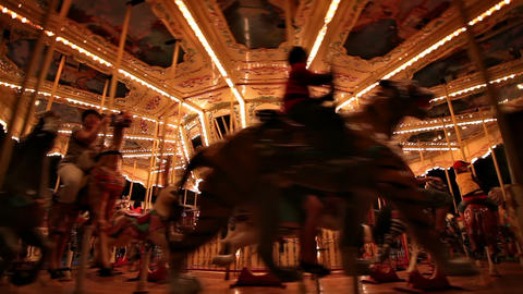 Carousel loop Stock Video Footage