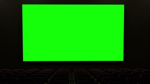 Cinema v4 16 9 01 loop Stock Video Footage