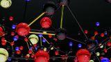 Complex Molecule Structure 02 stock footage