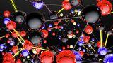 Complex Molecule Structure 06 stock footage