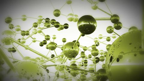 Complex Molecule Structure 12 Stock Video Footage