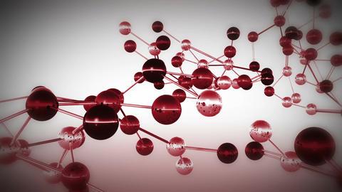 Complex Molecule Structure 14 Animation