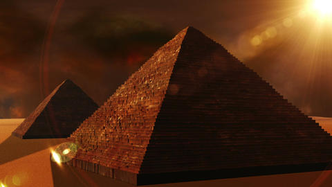 Egyptian Pyramid 02 Animation