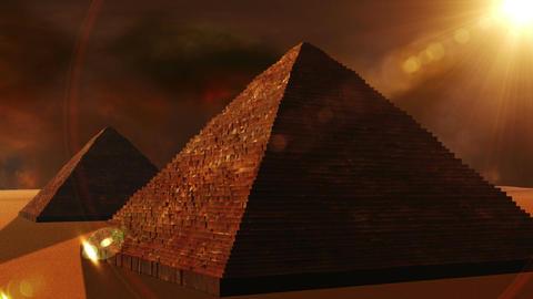 Egyptian Pyramid 02 Animation