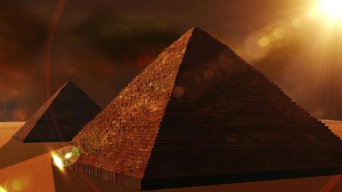 Egyptian Pyramid 02 Stock Video Footage