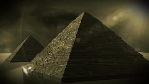 Egyptian Pyramid 04 Stock Video Footage