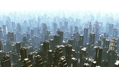 Metropolis 02 Stock Video Footage