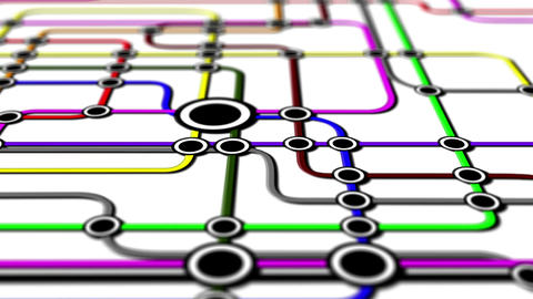 Subway Network People Connections v1 01 Animation