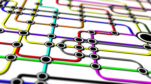 Subway Network People Connections v1 05 Animation