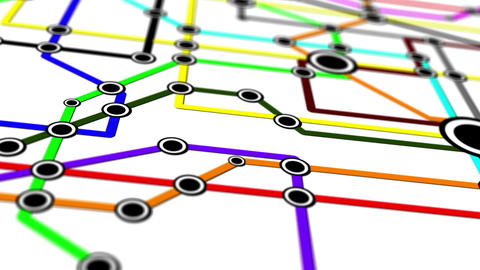 Subway Network People Connections v1 07 Animation
