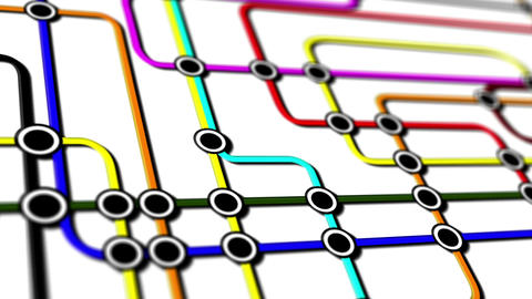 Subway Network People Connections v1 09 Animation