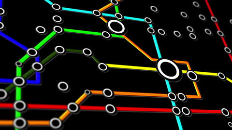 Subway Network People Connections v4 01 Animation