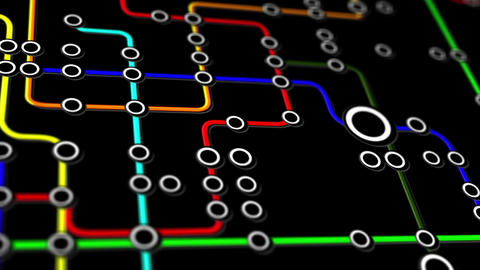 Subway Network People Connections v4 03 Animation