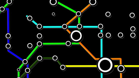 Subway Network People Connections v6 01 Animation