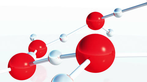 Water Molecules 01 Animation