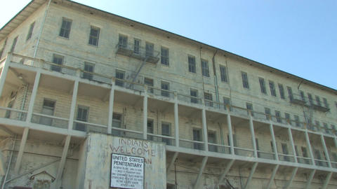 Alcatraz Stock Video Footage