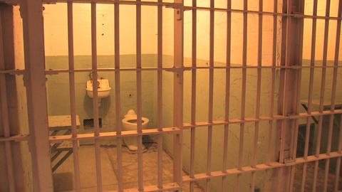 Alcatraz Cell Stock Video Footage