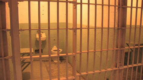Alcatraz Cell Stock Video Footage