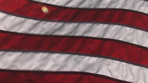 American Flag 1 Footage