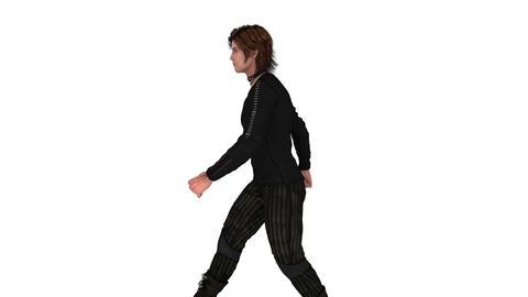 歩く男性 Animation