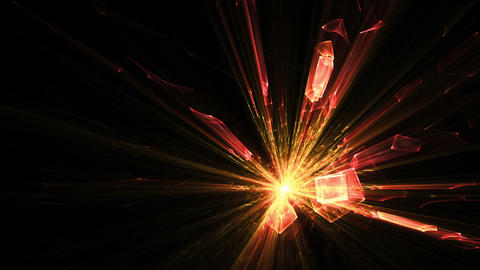 Explosion of light, blast Animation