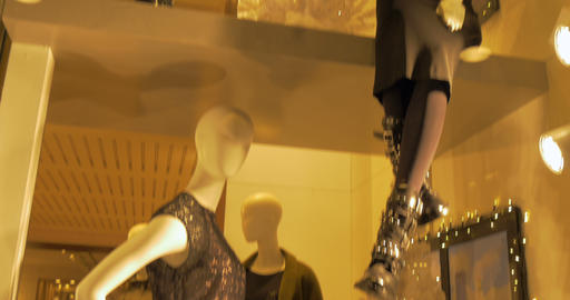 mannequins holiday 03 Footage
