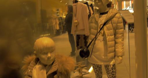 mannequins kid 03 Footage