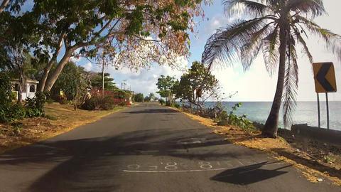 Caribbean Island Road Trip 03 Footage