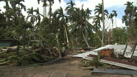 Hurricane Storm Surge Damage To Buildings Footage