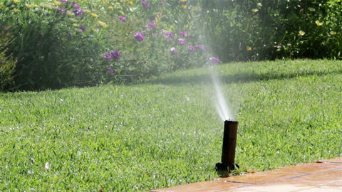 Garden Irrigation Sprinkler H Footage