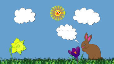 Easter Bunny After Effects Template