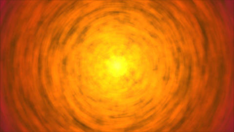 Abstract Rotating Lights Animation - Loop Fiery Orange Animation