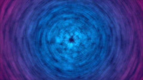 Abstract Rotating Lights Animation - Loop Blue Animation