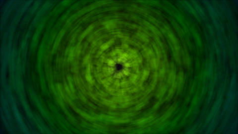 Abstract Rotating Lights Animation - Loop Green Animation