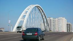 Road Bridge stock footage