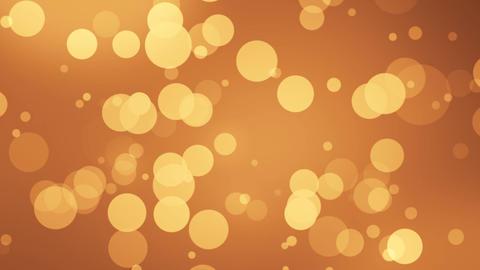 Bookeh Intro Orange Animation