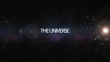Universe Text Opener After Effects Project