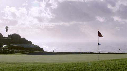 Algarve Golf Still Landscape B stock footage