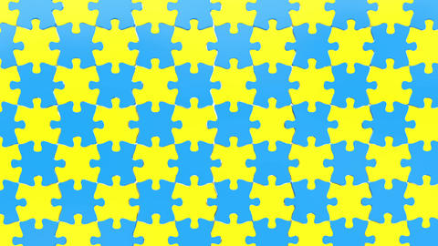 Puzzle stock footage
