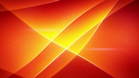 smooth orange waving loopable background Animation