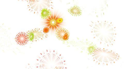 Whirlpool Of Flowers Animation