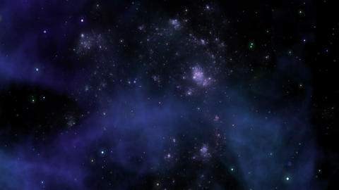 Nebula, Space Background Animation