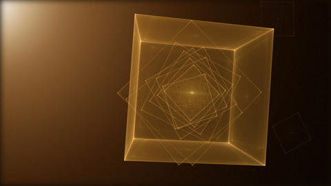 Rotating Cube Loop Animation