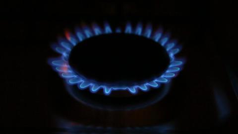 Gas burner on-off Footage