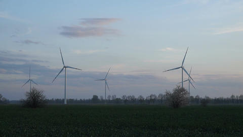 Wind turbines 7 Footage