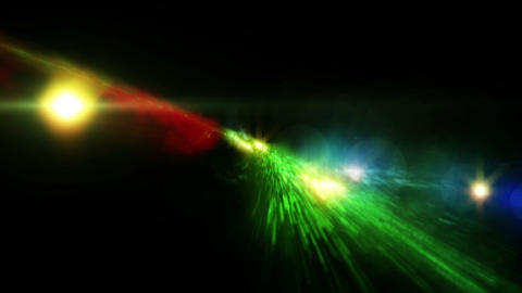 Galaxy Birth Spiral Flight Stars Animation