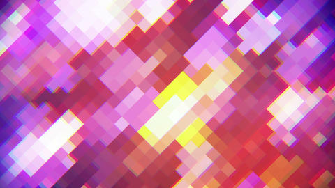 rhombus mosaic abstract loopable background Animation